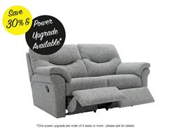 2 Seater Power Double Recliner Sofa