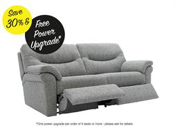 3 Seater Power Double Recliner Sofa