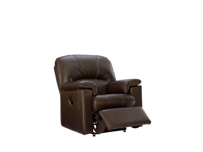 Superb G Plan Chloe Leather Small Manual Recliner Chair Buy At Bralicious Painted Fabric Chair Ideas Braliciousco