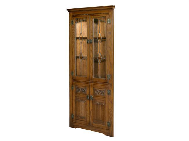 Oak Corner Cabinet Lucas Furniture, Corner Cabinet Furniture