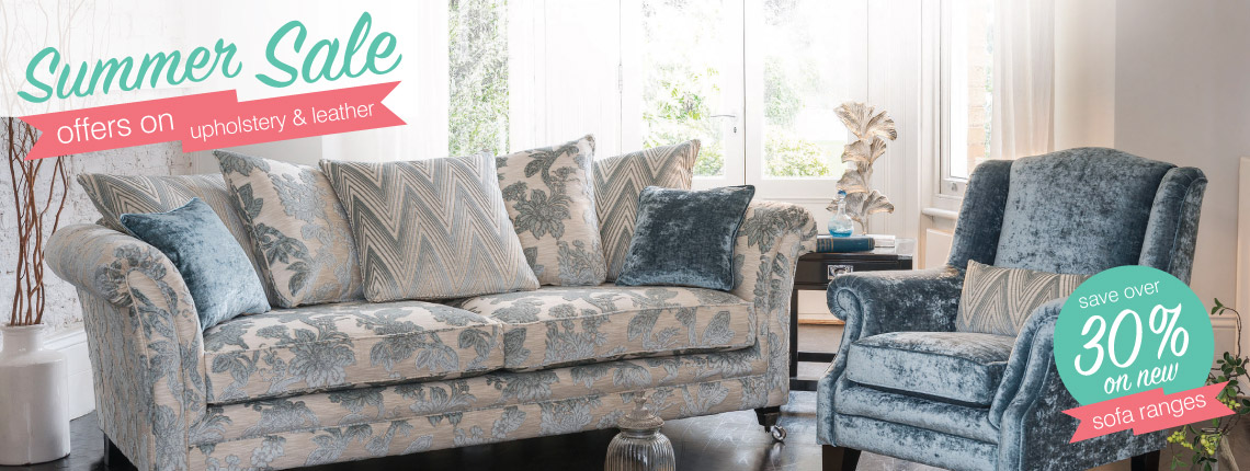 summer sale sofas and chairs